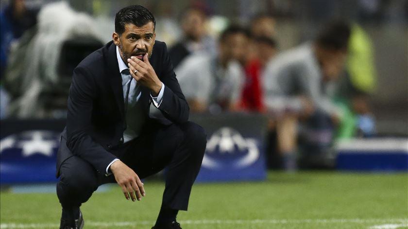 """Sérgio Conceição. Jogo com o Rio Ave é """"mais uma etapa para ganhar"""""""