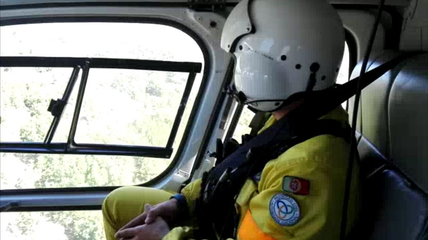EDP disponibiliza helicóptero no auxílio à vigilância e deteção de incêndios