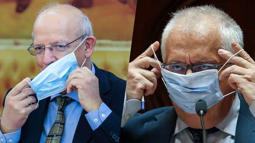Máscaras no Parlamento. No primeiro dia, políticos tiraram a máscara para falar. Faz sentido?