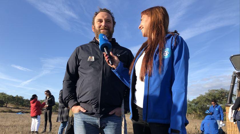 Eduardo Madeira e Ana Gavão Foto:Windpassenger