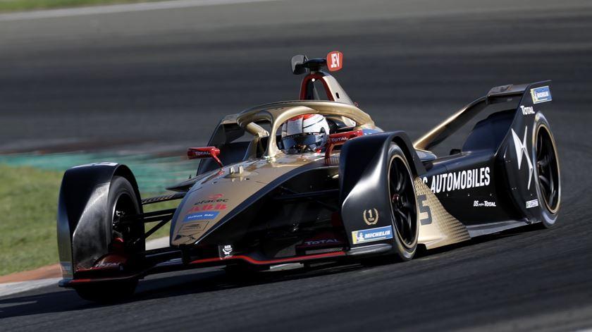Fórmula E. Félix da Costa desistiu na 10.ª corrida
