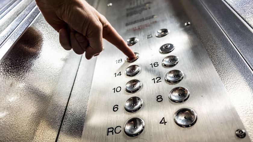 Os estranhos comportamentos dos humanos em elevadores