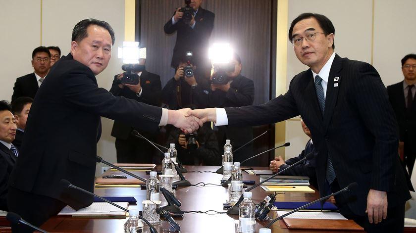 Encontro entre Coreias. Boas notícias do paralelo 38?