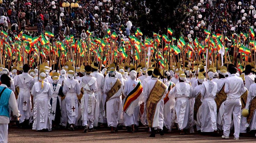 A Etiópia sonha com um 2013 livre de Covid