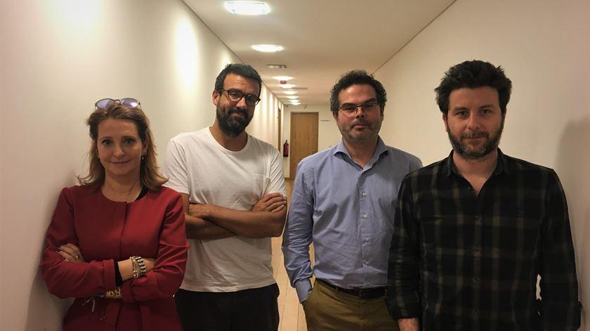 Um músico e três escritores falam da sua arte no Correntes d