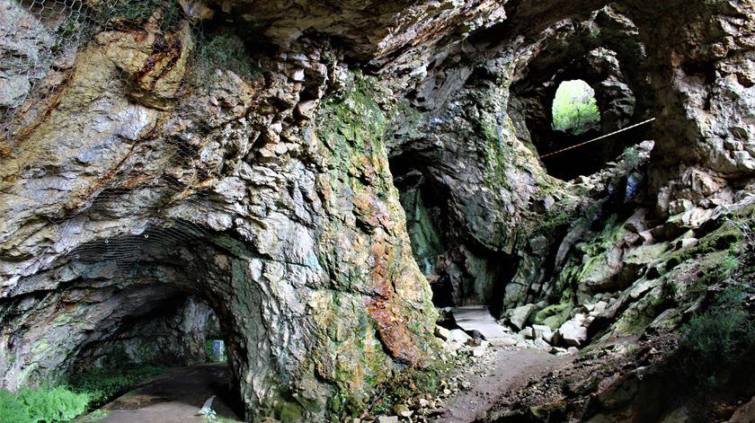 Entrada da mina. Foto: Liliana Carona/RR