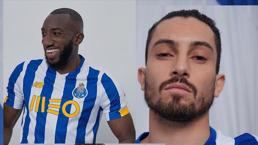 Mais riscas e tons de amarelo. FC Porto apresenta nova camisola