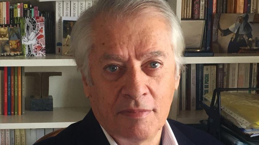 João de Melo recebeu a Medalha de Mérito Cultural do Ministério da Cultura, em 2019. Foto: Joana Melo
