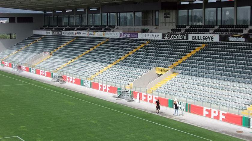 Paços de Ferreira quer dez adeptos na tribuna no jogo frente ao Sporting