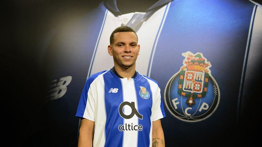 Ewerton assinou com o FC Porto por quatro épocas Foto: FC Porto