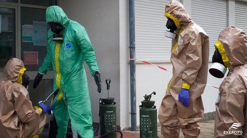 Covid-19. Forças Armadas mobilizam 60 equipas para desinfeção de lares de idosos