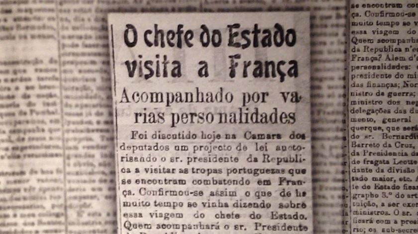 """""""Boa viagem, Senhor Presidente!"""" A primeira visita de Estado foi há 100 anos"""