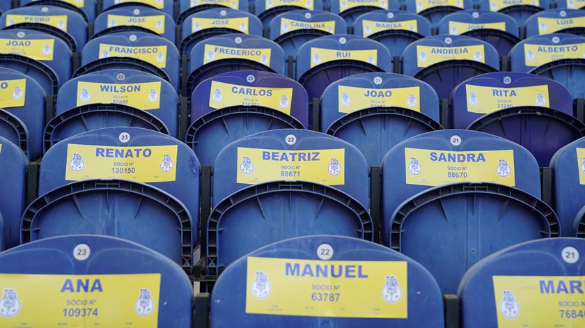 """FC Porto """"enche"""" o Estádio do Dragão com nome dos sócios"""