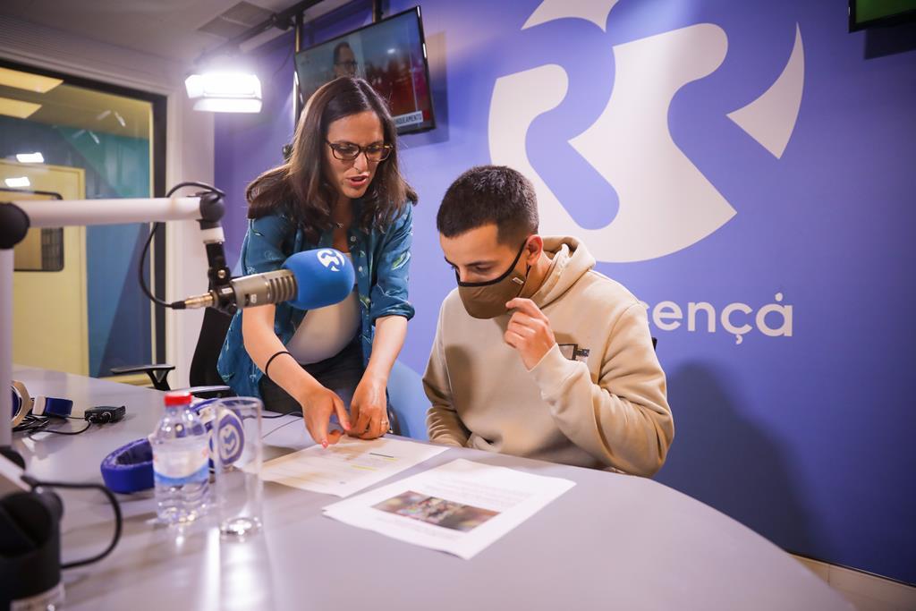 Fernando Daniel com Miriam Gonçalves no aniversário da Renascença Foto: Joana Bourgard/RR