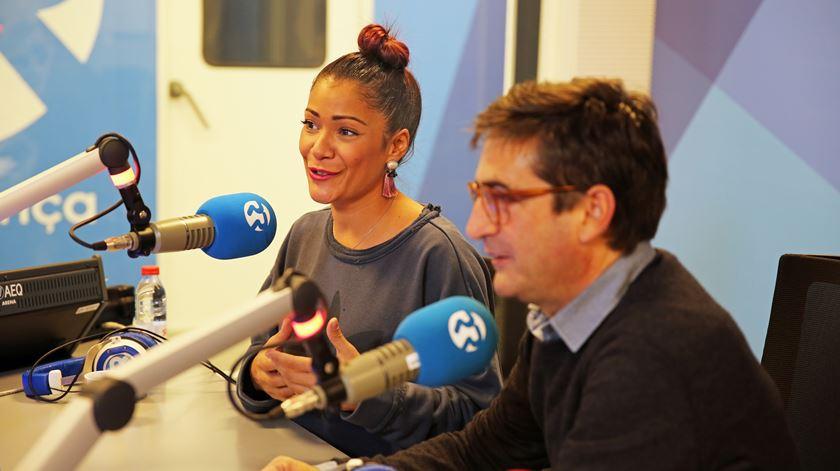 """Camané e Raquel Tavares """"à solta"""" na Manhã da Renascença"""