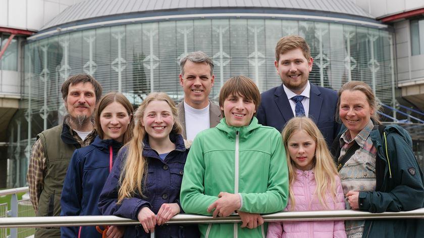 A família Wunderlich. Foto: ADF