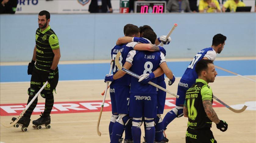 Esta época, os dragões já foram felizes, frente ao Sporting. Foto: FC Porto