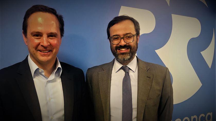 João Taborda da Gama e Fernando Medina - Idade de voto e campanha eleitoral - 14/05/2019