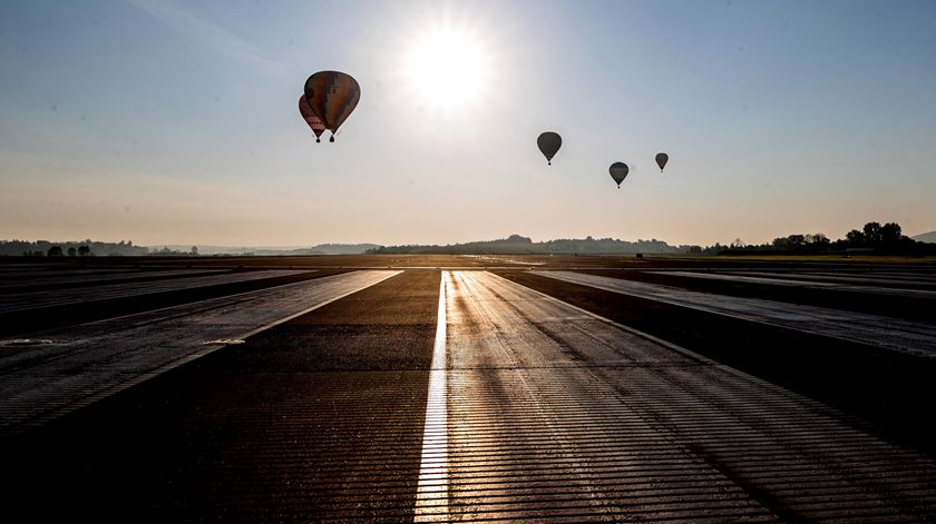 Festival de balões de ar quente assinala centenário de João Paulo II, na Polónia