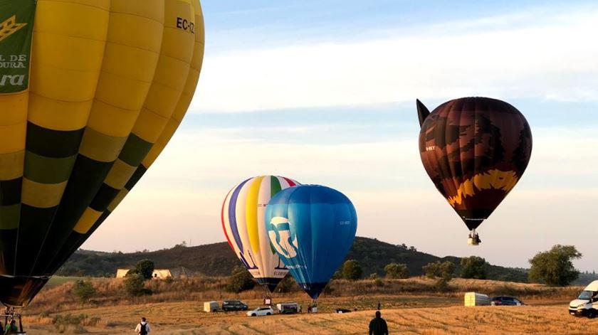 O balão da Renascença vai levantar voo em Coruche