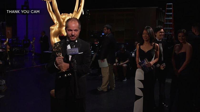 É português, ganhou um Emmy, mas só viu o genérico de