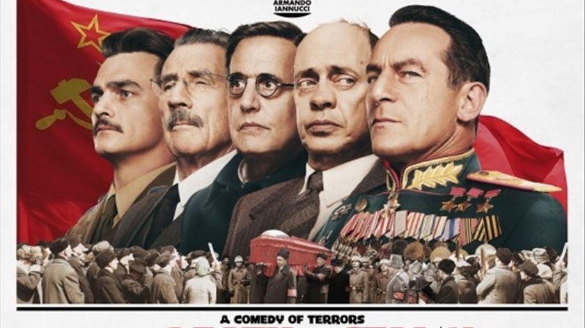 """Rússia proíbe estreia do filme """"A Morte de Estaline"""""""