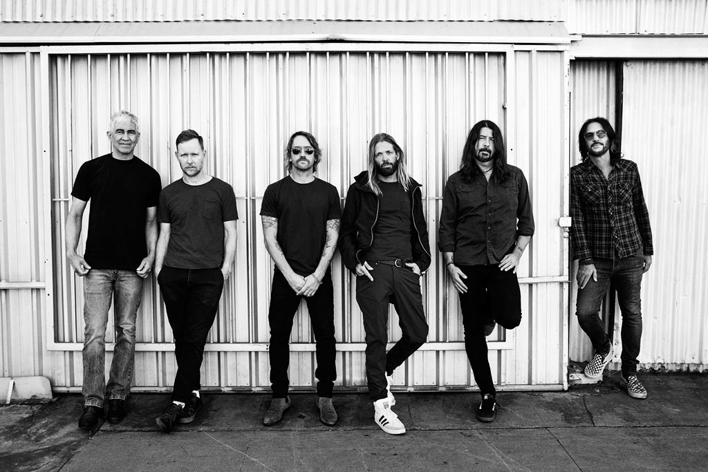 Foo Fighters confirmados na edição de 2022 do Rock in Rio. Foto: DR