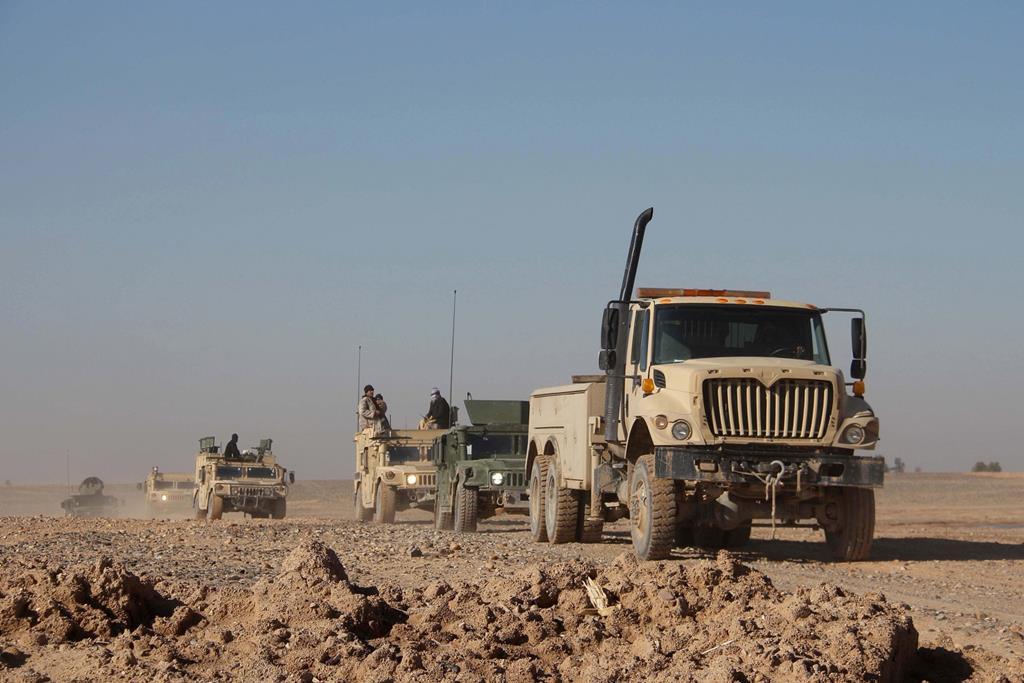 """Forças de Segurança do Afeganistão vão """"herdar"""" as instalações militares dos EUA e da Nato. Foto: Watan Yar/EPA"""