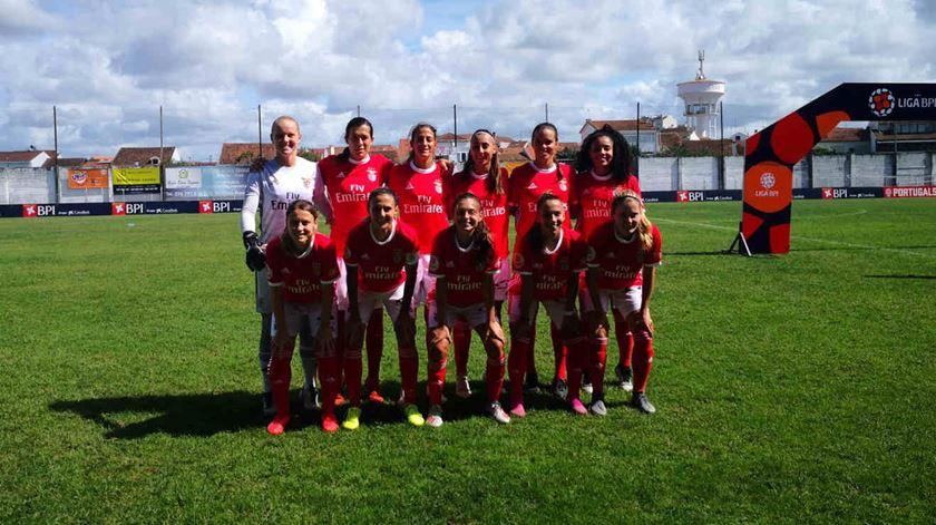 Benfica, Sporting e Futebol Benfica lideram campeonato