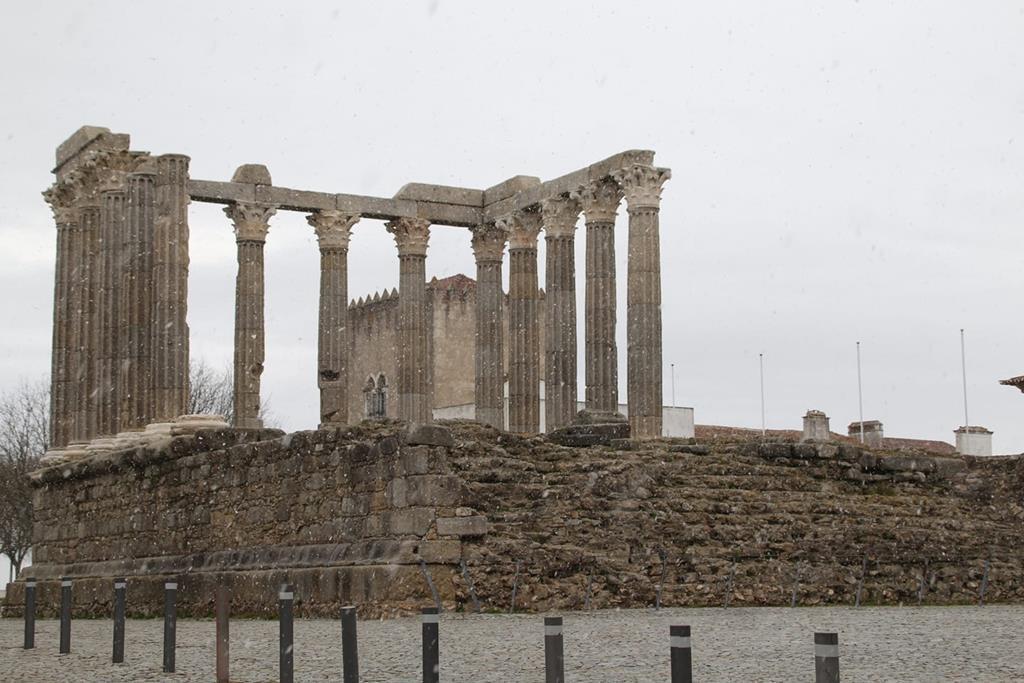 O templo de Diana, em Évora. Foto: João Infante