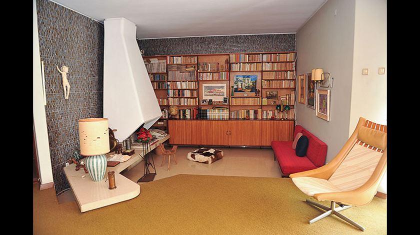 Interior da casa de Caxias de Igrejas Caeiro. Foto: Fundação Marquês de Pombal