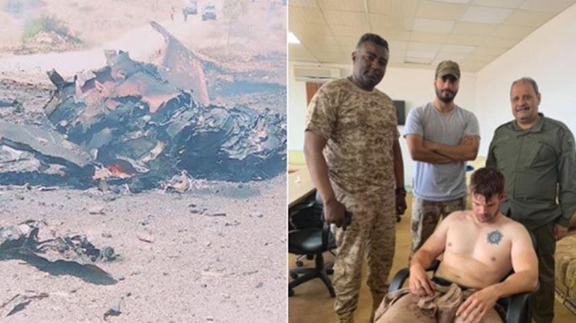 Piloto detido na Líbia que dizia ser português é afinal veterano norte-americano