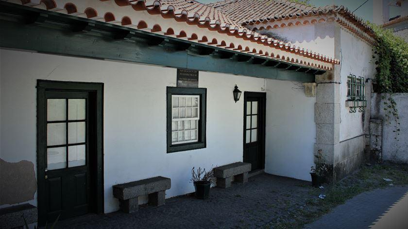Casa onde nasceu Salazar. Foto: Liliana Carona/RR