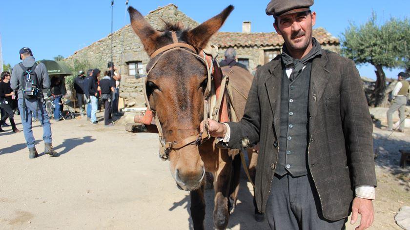 David Correia é o figurante responsável pelos animais. Foto: Liliana Carona/RR