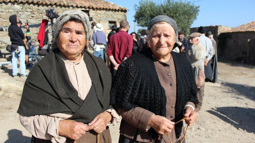 Edite e Alexandrina nunca imaginaram ser atrizes. Foto: Liliana Carona/RR