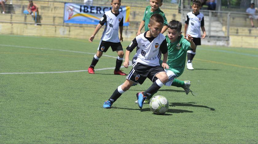 A IberCup é um reputado torneio de futebol infantil. Foto: ibercup.com