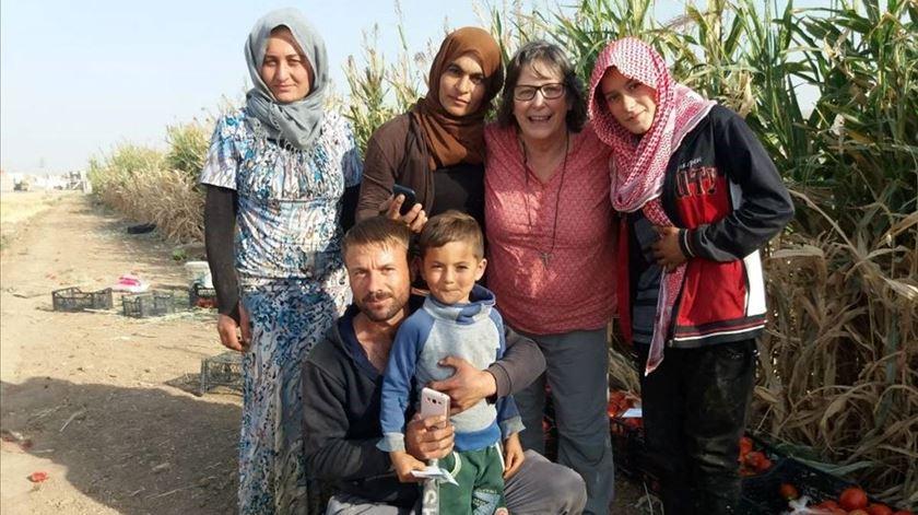 """Ser missionária no Curdistão. """"Ouvimos que andam a odiar-se"""", mas yazidis, muçulmanos e cristãos trabalham juntos"""