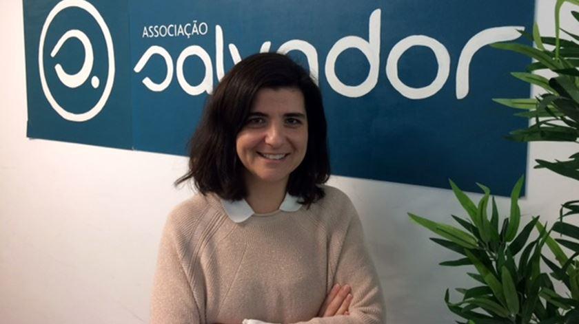 Joana Frederico, da Associação Salvador. Foto: DR