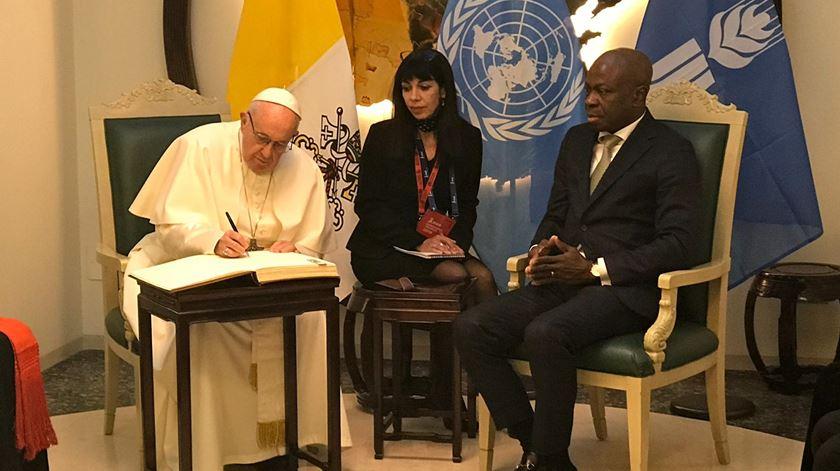Papa apela ao investimento no desenvolvimento rural para combater a fome no mundo