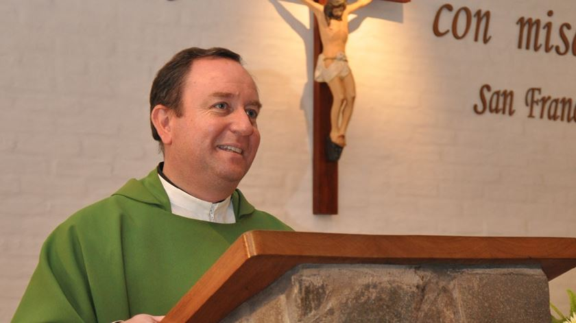 Bispo Gustavo Zanchetta, antes da sua ordenação episcopal. Foto: DR