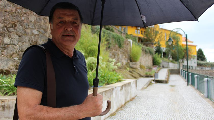 Professor José António Manta. Foto: Liliana Carona/RR