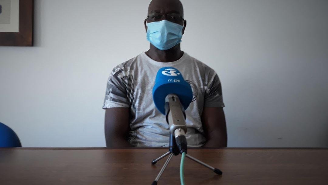 Família de Rui Filipe, um gestor de logística, apanhada pela pandemia em Lisboa. Foto: Manuela Pires/RR