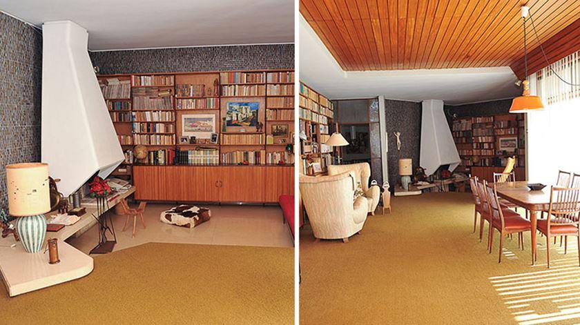 Interior da Casa de Caxias antes das obras Foto: Fundação Marquês de Pombal