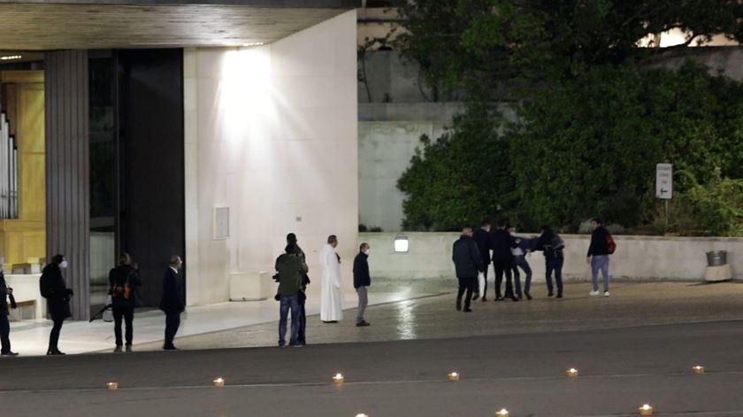 Homem tenta invadir recinto do Santuário de Fátima