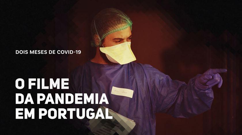 Dois meses de Covid-19. O filme da pandemia em Portugal