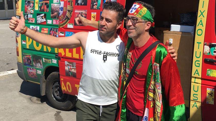 A autocaravana portuguesa que não falha um jogo