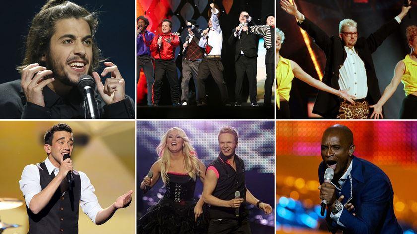 """As músicas """"mais"""" da Eurovisão"""