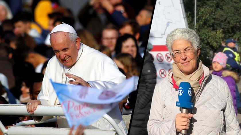 Papa quer estonianos livres, mas livres a sério