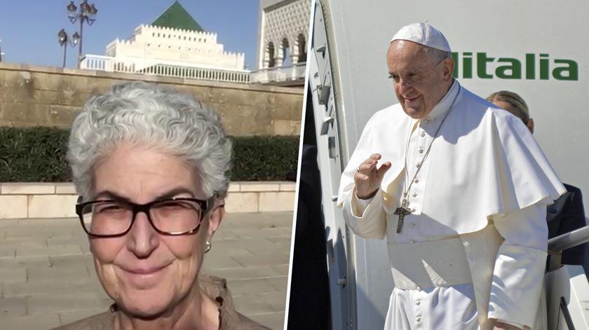 Papa em Marrocos para dialogar com o Islão