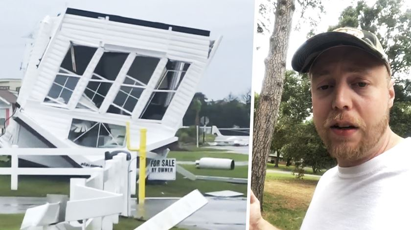 Sabe o que tem mesmo de fazer quando um furacão se aproxima?